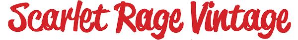 Scarlet Rage Vintage Logo